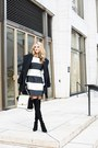 Stuart-weitzman-boots-stella-mccartney-dress-trina-turk-coat