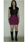 Black-len-druskin-t-shirt-purple-urban-planet-skirt-black-winners-boots
