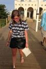Black-mikkat-market-shorts-white-michael-kors-bag-black-chicos-top