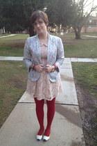 eggshell lace dress Forever 21 dress