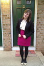 Black-kate-young-for-target-blazer-black-betsey-johnson-tights