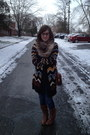 Brown-frye-boots-navy-levis-jeans-brown-missoni-for-target-sweater