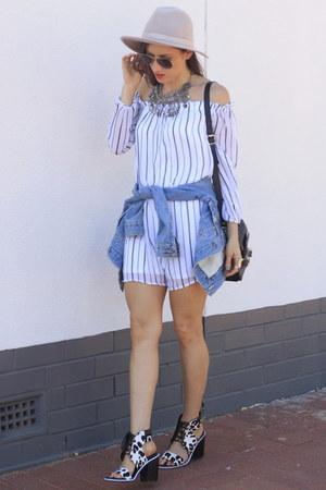 cotton on dress - PROENZA SCHOULER bag - Senso heels