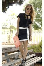 Dotti skirt - hello parry t-shirt