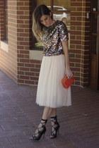 H&M top - Windsor Smith heels