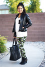 Ankle-booties-boots-aeropostale-leather-jacket-jacket-camo-leggings-leggings