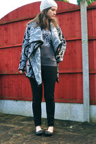 asos cardigan - Dorothy Perkins hat - Dorothy Perkins t-shirt