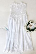 white dress Lookbook Store dress