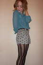 Turquoise-sheer-primark-shirt-miss-selfridge-tights