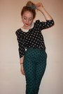 Bow-alice-takes-a-trip-accessories-primark-top-polka-dot-topshop-pants