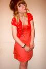 New-look-dress-h-m-cardigan-vivienne-westwood-necklace