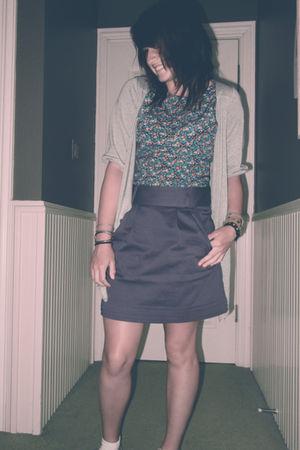 bracelet - dress - skirt - cardigan
