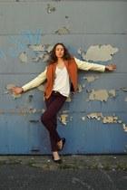 Zara jeans - Antipodium blazer - Carvela Kurt Geiger flats - Alexander Wang top