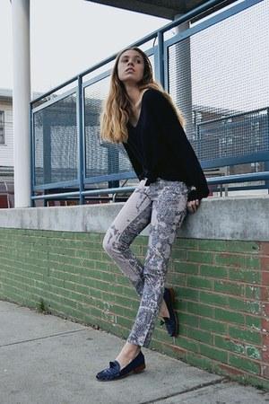 roberto cavalli jeans - Dolce Vita loafers