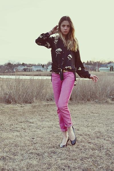 John Galliano jeans - Zara belt