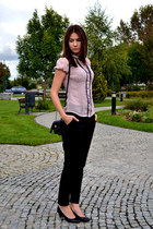 Mohito blouse - H&M pants