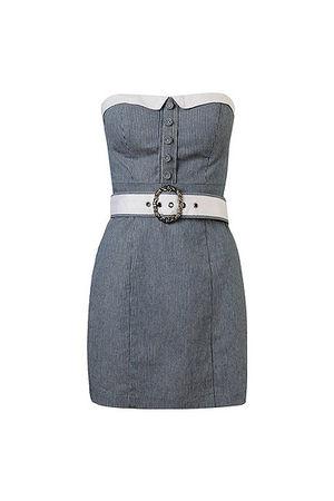 blue Forever21 dress
