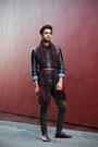 Forever-21-jeans-zara-jacket-ralph-lauren-shirt-zara-scarf