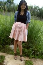 shirt - petite coupe skirt