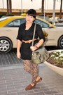 Brown-oxford-shoe-express-shoes-brown-leopard-maxx-leggings