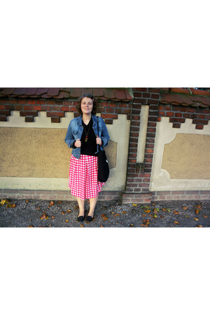 skirt - jacket - bag