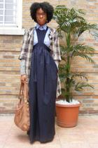 Walter coat - H&M sweater - J Crew shirt - acne dress - lucky purse