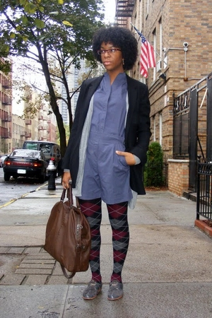 1486d6e93201 mint jodi arnold - firma blazer - H M sweater - Burberry purse - cordwainer  shoe