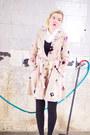 Beige-anthropologie-coat-white-vintage-heels