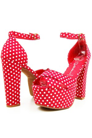 red el carmen Jeffrey Campbell sandals