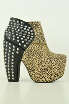 beige Jeffrey Campbell heels