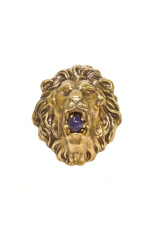liongoldpurple jan michaels ring