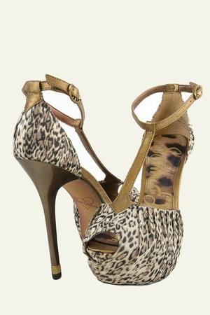 light brown leather fabric sam edelman heels