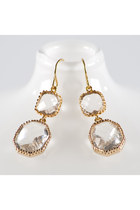 gold Elizabeth Perry Collections earrings