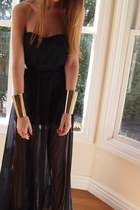 Home made dress - Willow boots - asos bracelet