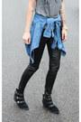 Sam-edelman-boots-h-m-leggings-gap-shirt-h-m-sunglasses-ily-couture-top