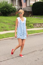 Zara romper - Zara top - free people sneakers - Zara necklace