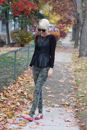 piperlime top - Loft top - asos shoes - Urban Outfitters jeans