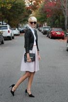 H&M skirt - H&M jacket - asos top - Zara heels