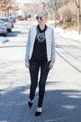 Zara-jeans-bella-luxx-jacket-h-m-sunglasses-zara-necklace-bella-luxx-top