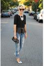 Asos-jeans-tj-maxx-top-zara-flats