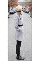 H&M jacket - corso como boots - Express leggings