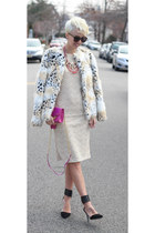 Betsey Johnson jacket - JUNIEBlake dress - Diane Von Furstenberg bag