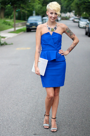 The Limited bag - Lulus dress - Zara necklace - Zara heels