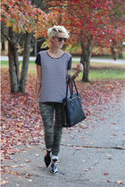 Zara shoes - Stella & Dot bag - Urban Outfitters pants - Dorothy Perkins top