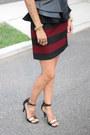 Zara-skirt-asos-heels-forever-21-top-asos-belt