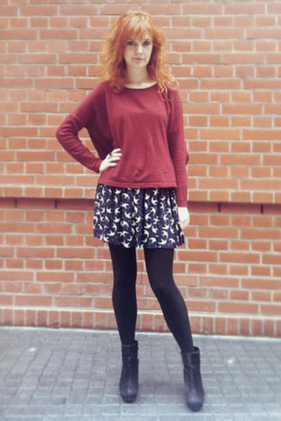 Dress Crimson H&m Jumper
