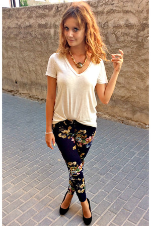 floral Zara pants