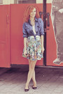 Stradivarius-top-mango-shirt-zara-skirt-promod-necklace