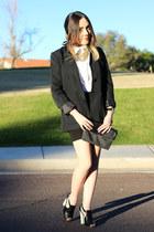 Forever 21 blazer - kate spade bag - PacSun heels