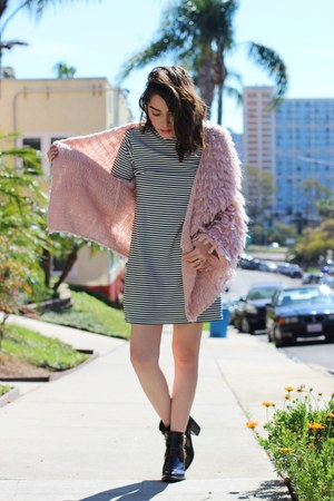 Missguided boots - Forever 21 dress - Dillards jacket